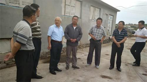 山东省农业厅领导来烟台市督导苹果有机肥替代化肥项目