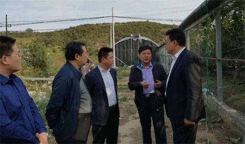 烟台市农业局赴牟平调研生态农业功能区建设