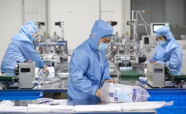 我国已出口价值100多亿元的疫情防控物资
