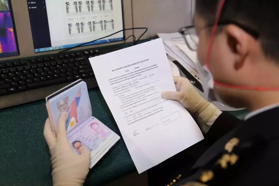 海关总署:将严惩入境人员不如实填报健康状况等行为