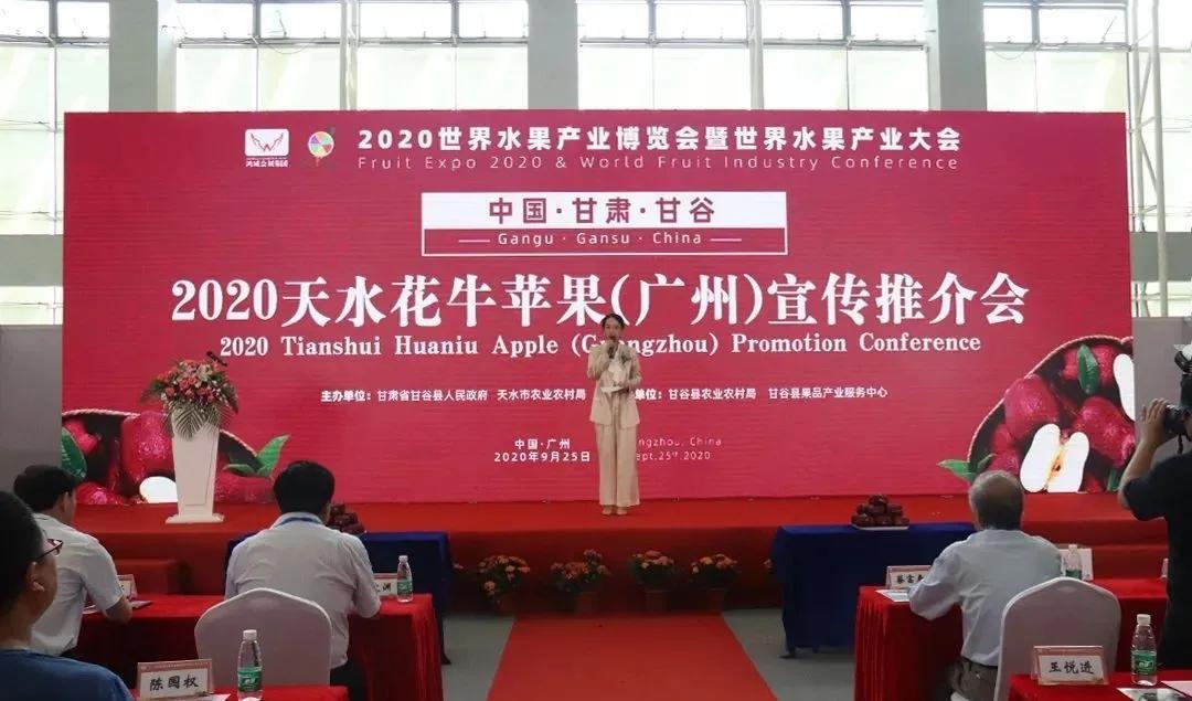 中国·甘肃·甘谷2020天水花牛苹果展示展销及宣传推介会在广州举行 ...